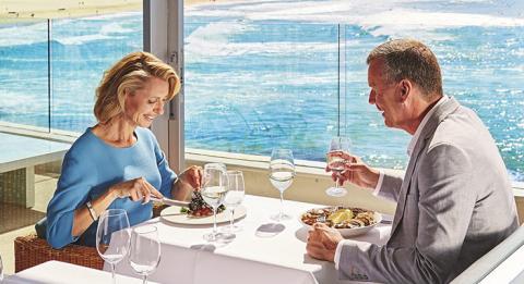 아이스버그 다이닝 룸&바(Icebergs Dining Rooms and Bar), 본다이