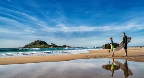 NSW 사우스 코스트에서 세계 수준의 서핑 해변 탐색
