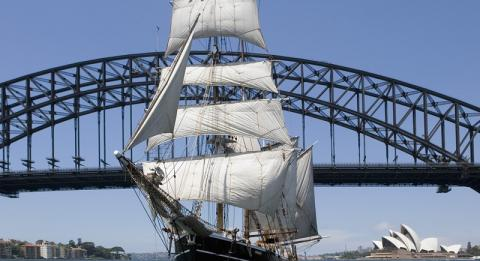 시드니 하버 톨 쉽(Sydney Harbour Tall Ships)
