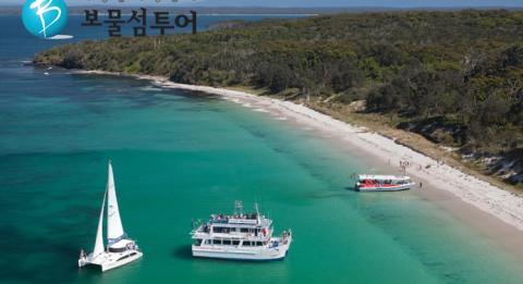 Fleet of Dolphin Watch Cruises Jervis Bay boats, South Coast
