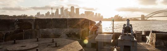 데니슨 요새(Fort Denison), 시드니 하버 국립공원