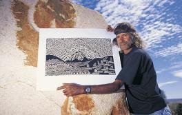 호주 원주민 예술가, 아웃백 NSW 지역