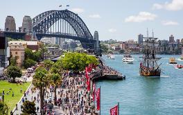 호주의 날(Australia Day), 시드니