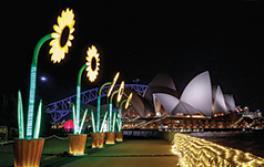 시드니 오페라 하우스, 비비드 시드니(Vivid Sydney)